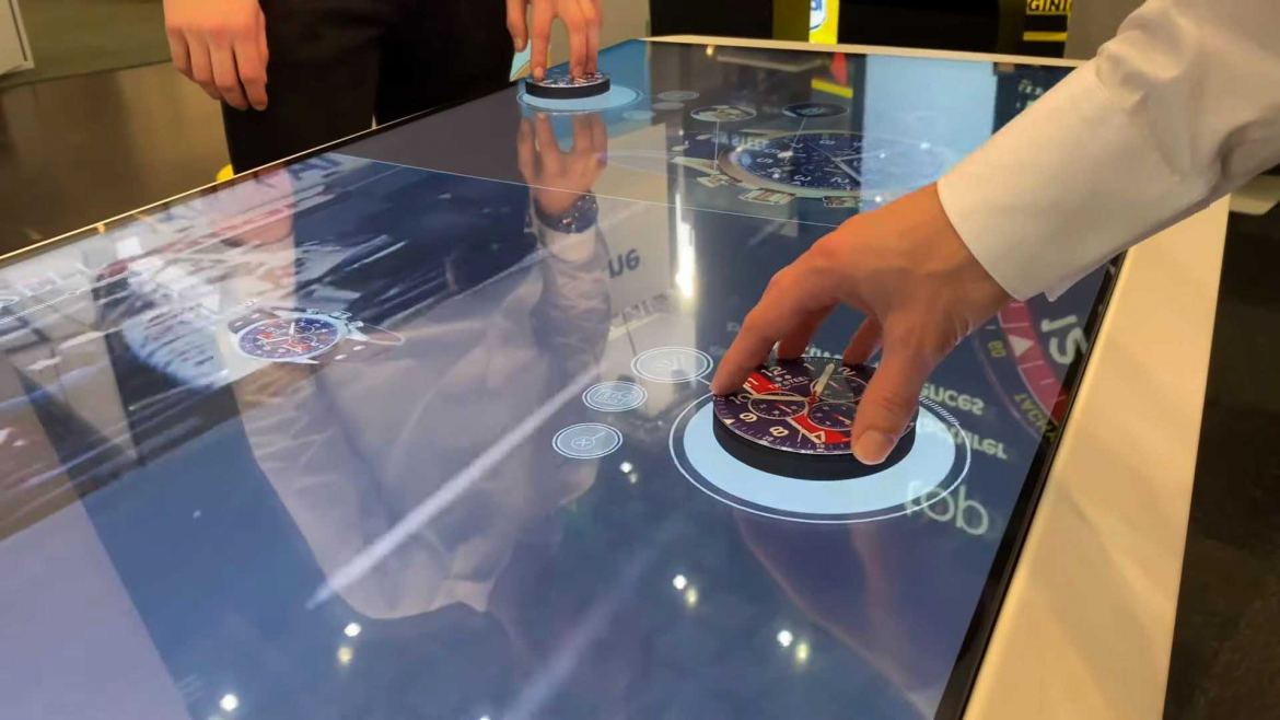 Prestop Object Recognition Touch Table