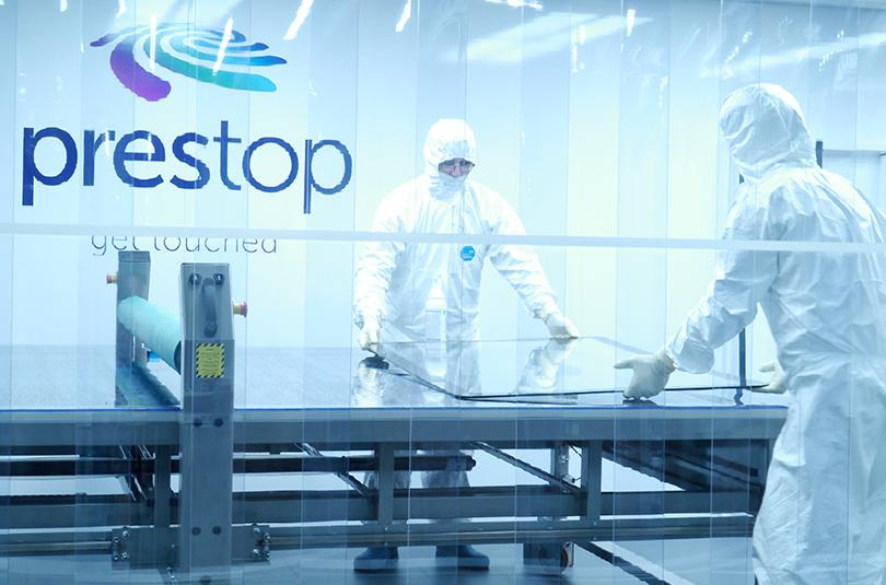 Video cleanroom Prestop