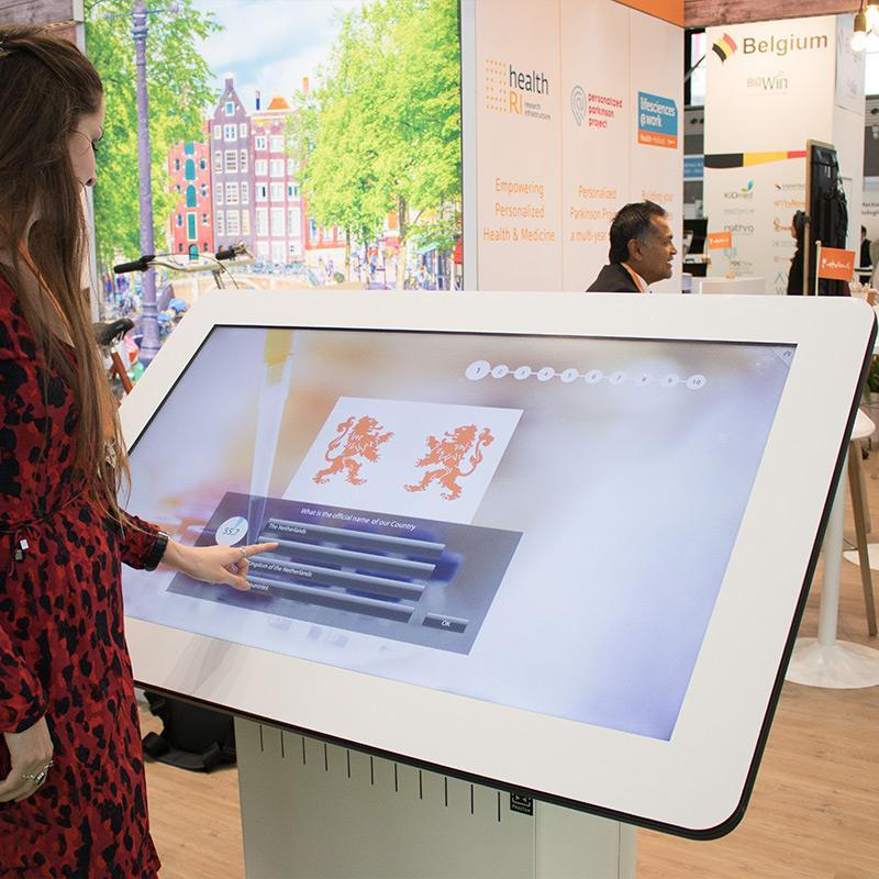 Prestop touchscreen tafel Health Holland