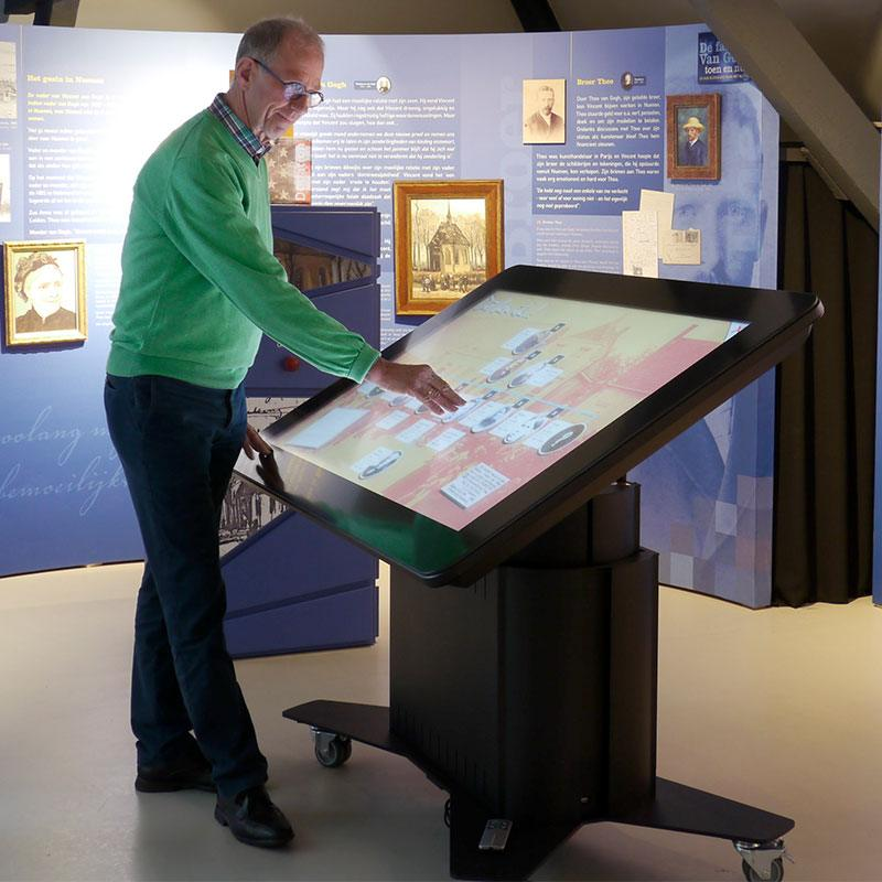 Vincentre touchscreen tafel
