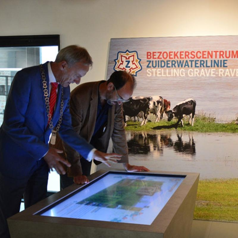 Prestop touchscreens Zuiderwaterlinie Museum
