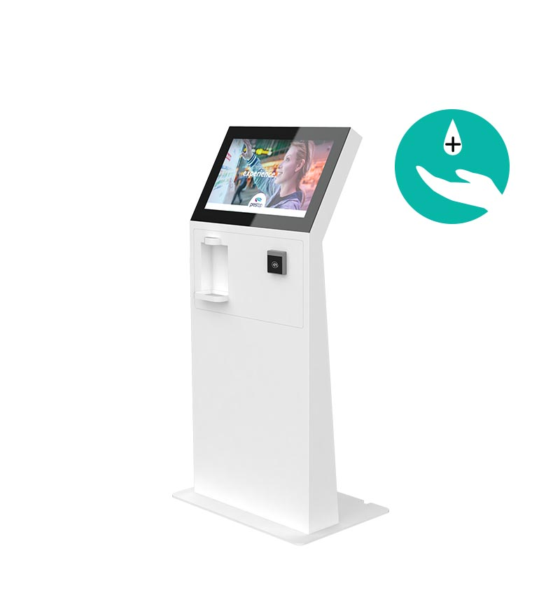 "Kiosk Eminent M 24"" L PAY C Disinfection"