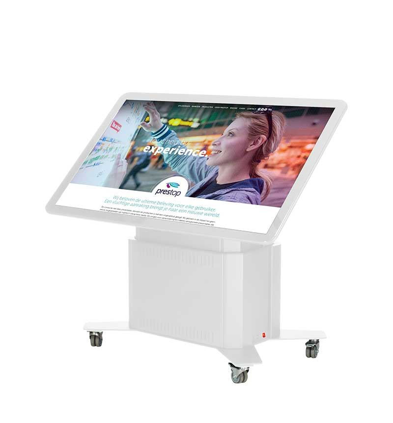 "Smart Touch Table Eminent 65"" 4K White"