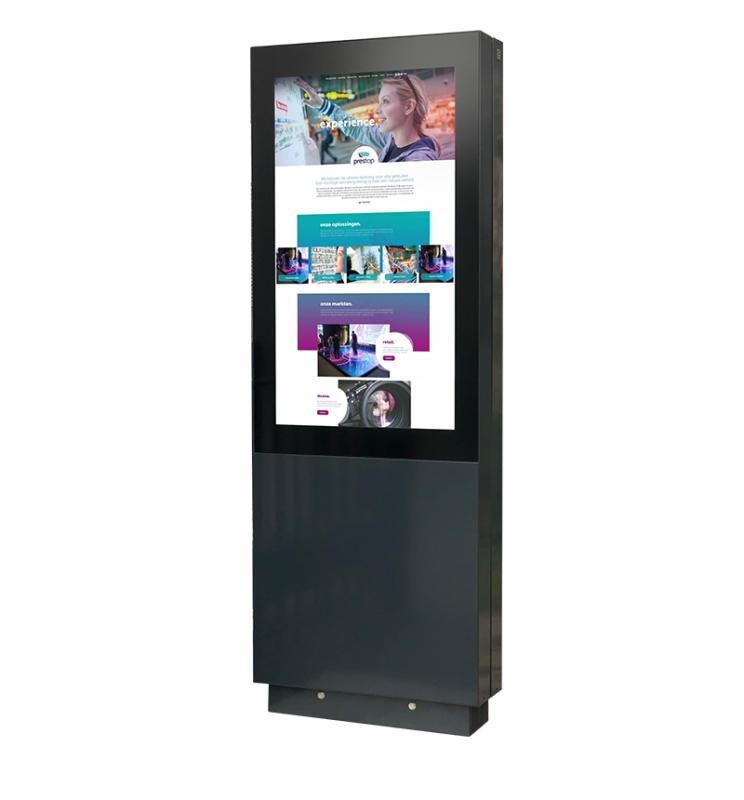 "Outdoor Kiosk Extreme 55"" DUO"