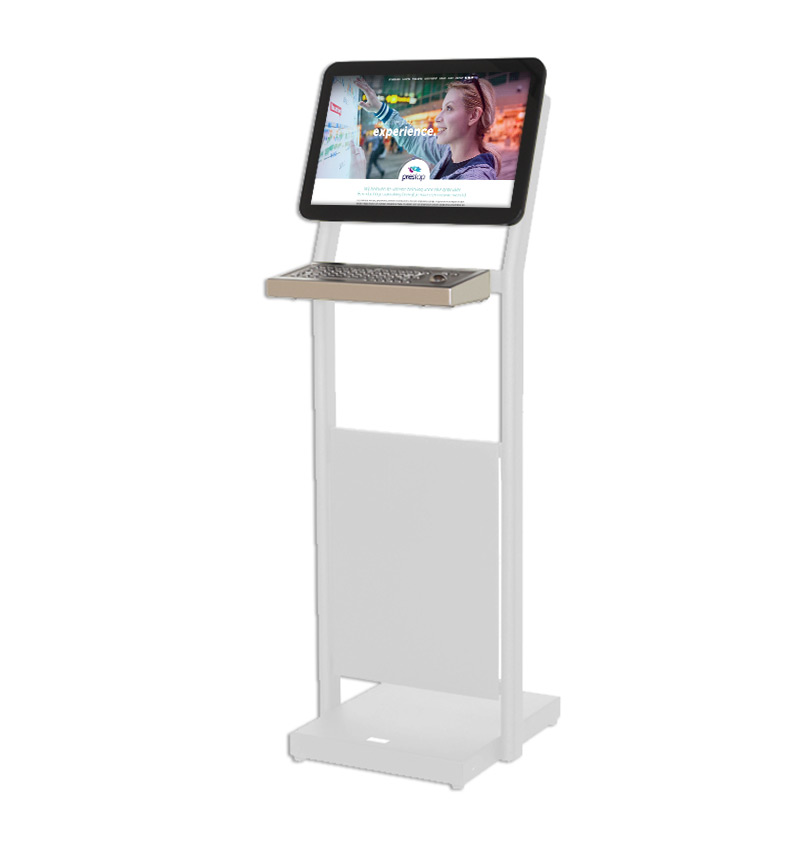 "Kiosk Basic 19"" + Keyboard"