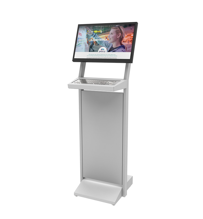 "Kiosk Basic 22"" + Keyboard"