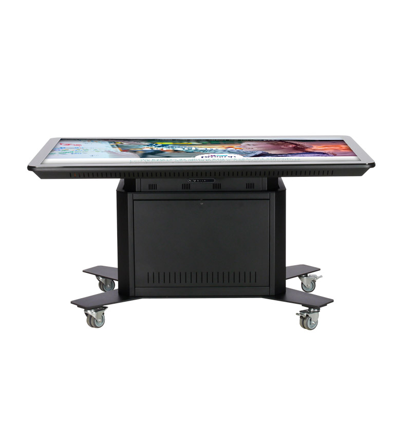 "High-Low Touch Table Eminent 65"" 4K"
