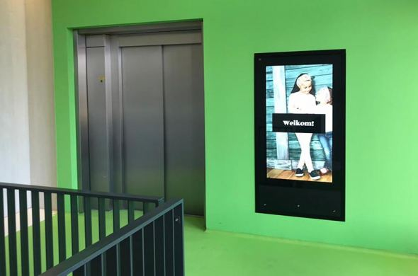 Touchscreens en displays voor Leidsche Rijn Centrum